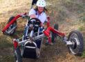 Electric Spider Legs Car