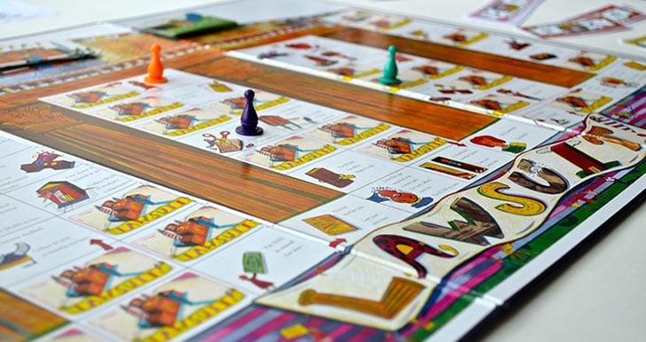 Family Law Board Game