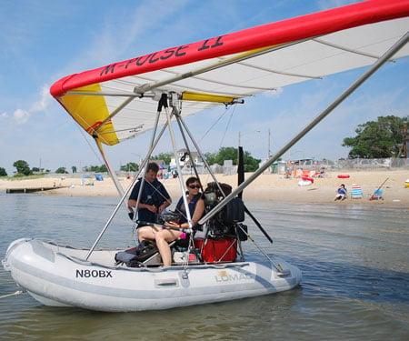 Flying Amphibious Boat
