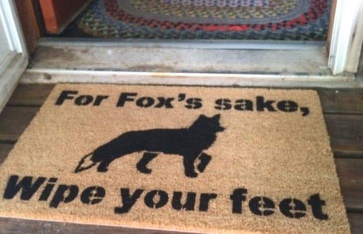 For Fox's Sake Doormat