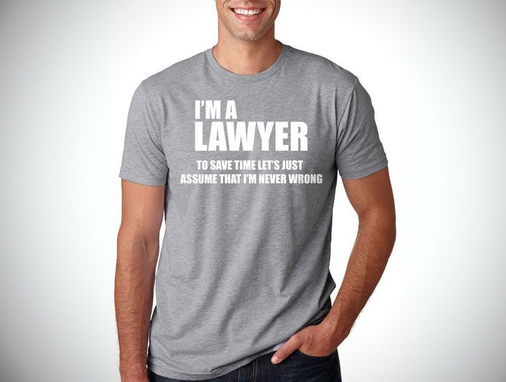 Barrister Ladies Personalised T-Shirt Best World Law Legal Solicitor Funny Gift