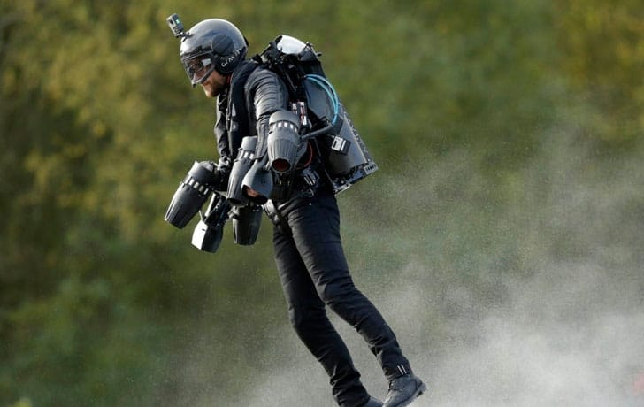 Gravity Industries Jetpack Suit