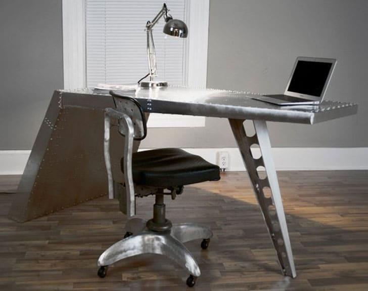 Industrial Airplane Desk Furniture