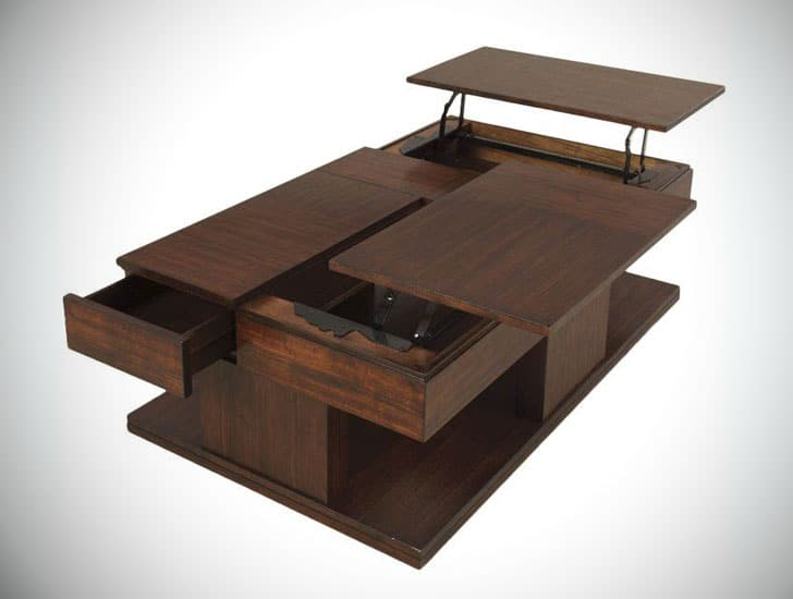 Janene Lift Top Coffee Table with Storage
