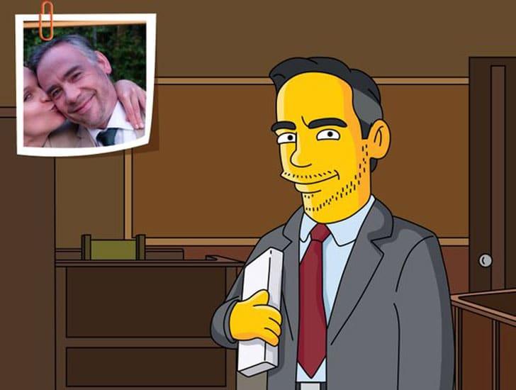 Lawyer Gift - Custom Portrait as Yellow Cartoon Character