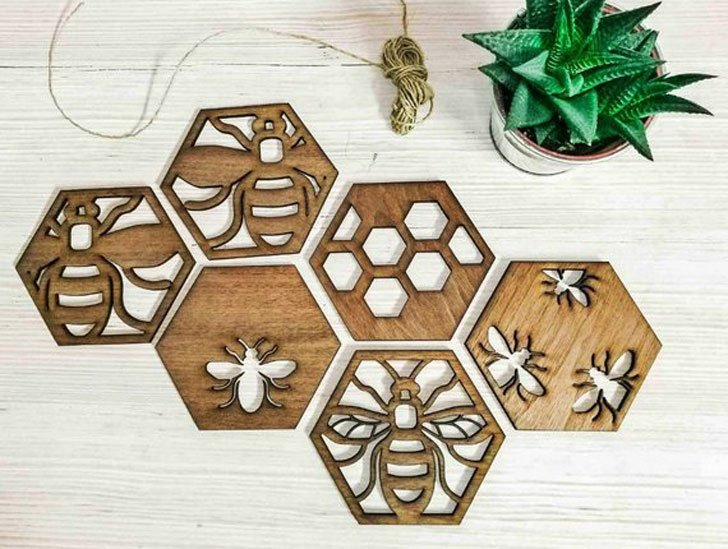 Mama Bee Drink Coasters