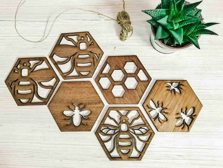 Mama Bee Drink Coasters