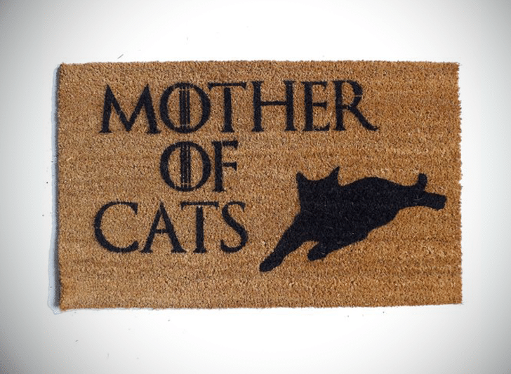 Mother of Cats Doormat