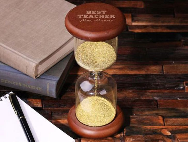Personalized Hour Glass Lawyer Office Decor