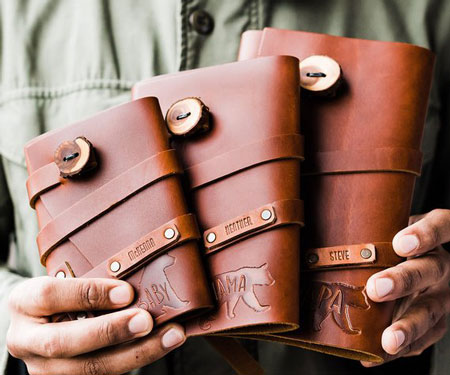 Personalized Leather Journals