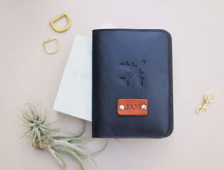Personalized Leather Passport Covers
