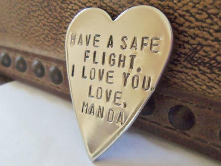 Pilots Good Luck Pocket Token Or Wallet Keepsake