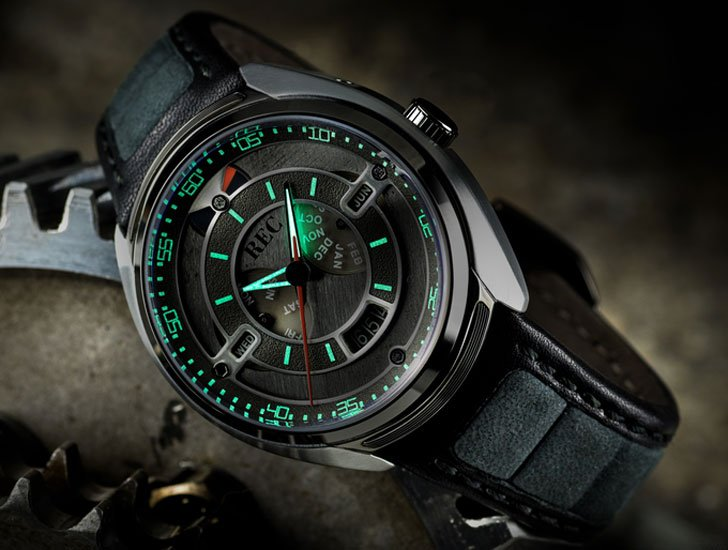 Salvaged Porsche 911 Watch