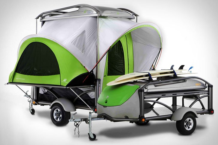 SylvanSport Adventure Camping Trailers