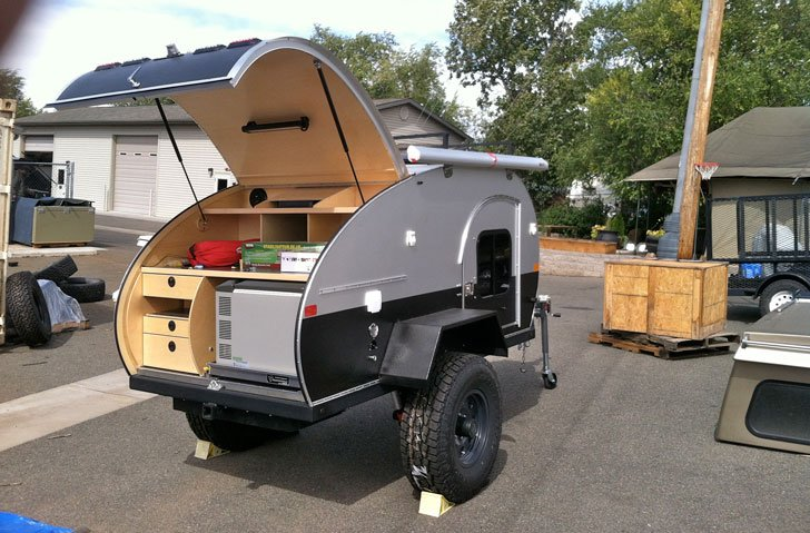 TC Teardrops Custom Built Campers