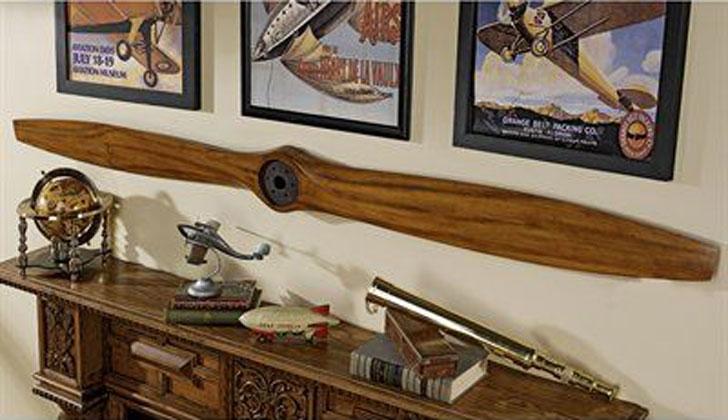 The Great War Biplane Propeller Wall Décor