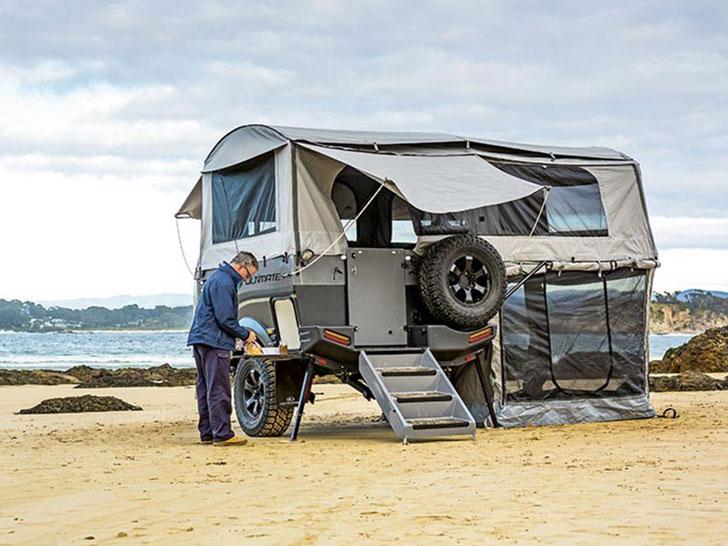 Ultimate XTERRAN Off Road Camper Trailer