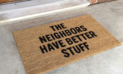 32 Cute & Unique Doormats with Attitude!