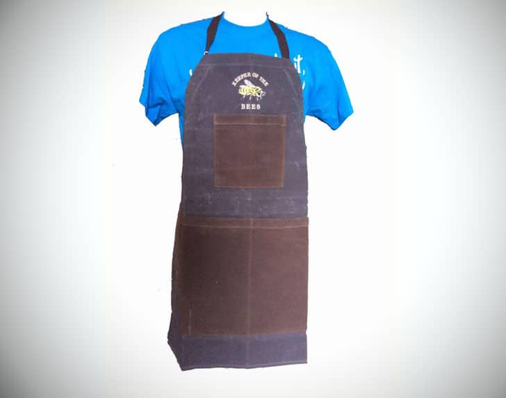 Waxed Canvas Honey Harvesting Apron