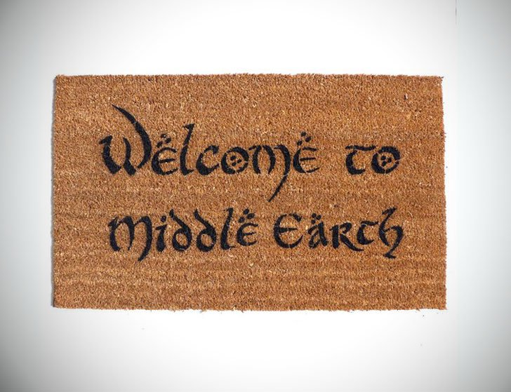 Welcome to Middle Earth Doormat
