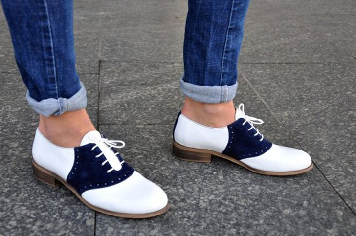 Women's Leather Oxfords