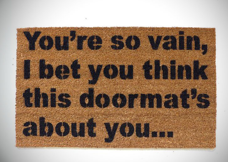 You're So Vain, Doormat