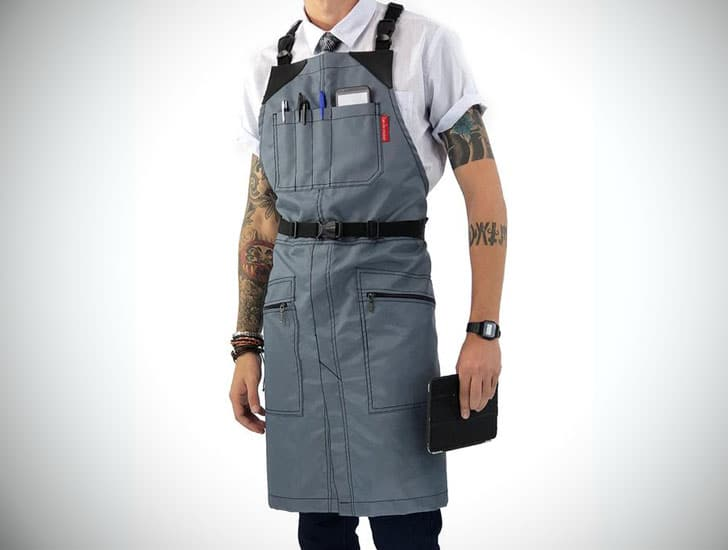 Barber Cross-Back Apron