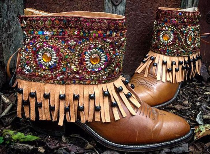 Bohemian Pandora Treasure Boots