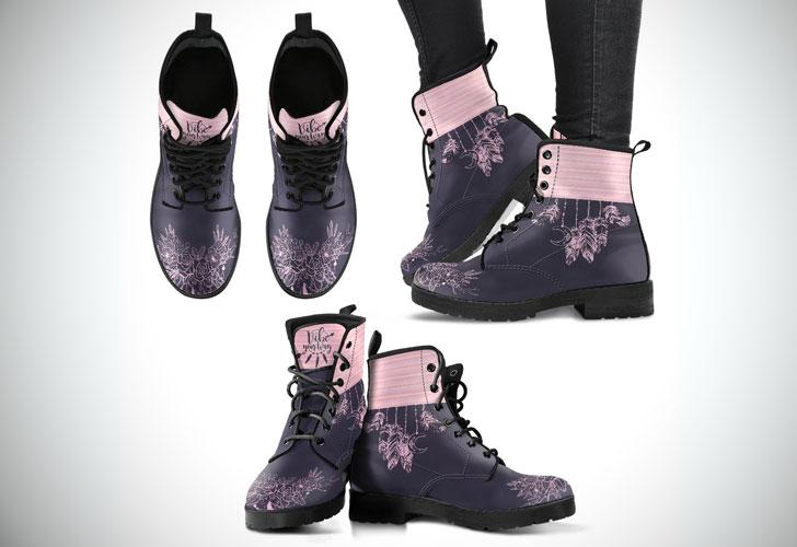 Bohemian Retro Blush Boots