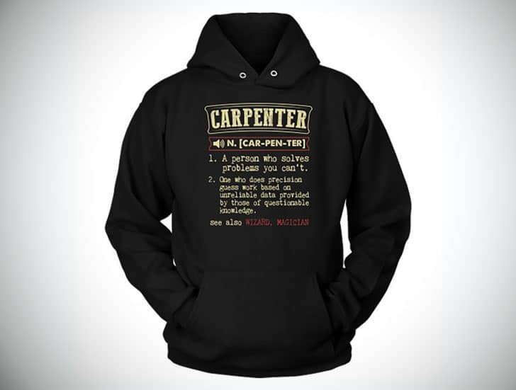 Carpenter Definition Hoodie / Sweater