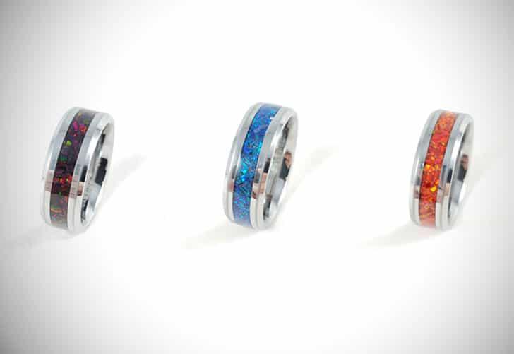 Custom Made Opal Rings