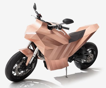 De Castelli Samotracia Copper Motorcycle