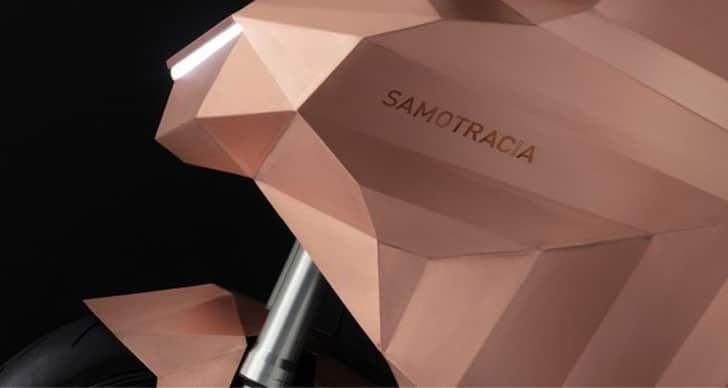 De Castelli Samotracia Copper Motorcycle