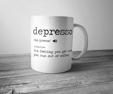 Depresso Coffee Mug