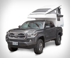 Earthcruiser Pop up Camper Truck