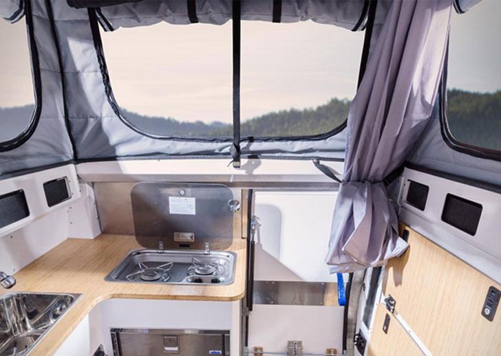 Earthcruiser Pop up Camper Truck