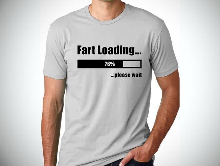 Fart Loading Funny T-shirt
