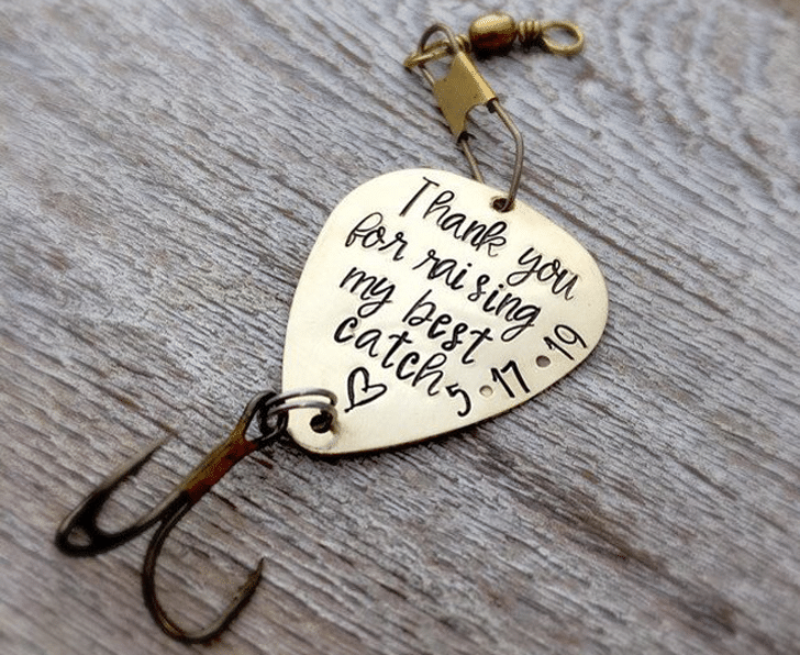 Father Gift from Daughter Personalized Fishing Lure