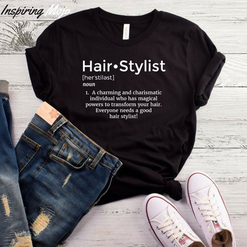 Hair Stylist Definition T-Shirt