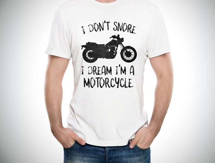 I Dont Snore Tee