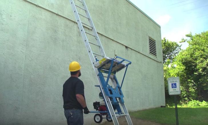 Ladder Cargo Lift