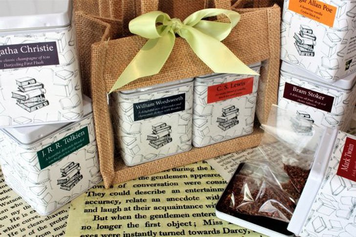 Literary Tea Gift Set