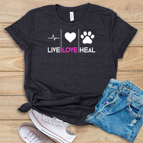 Live Love Heal Shirt