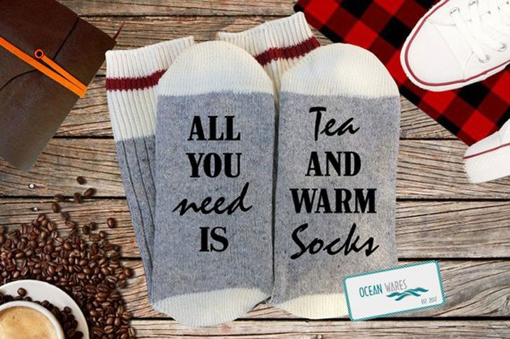 Novelty Tea Related Socks - Gifts For Tea Lovers