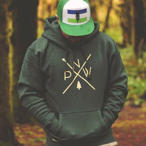 Original PNW Pride Hoodies