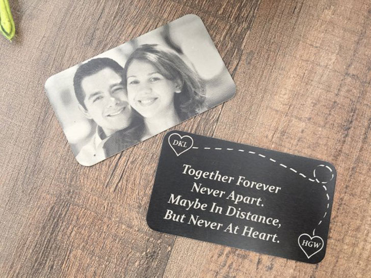 Personalized Picture Wallet Card
