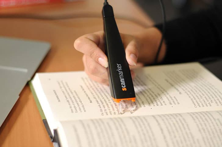 Portable Scan Marker