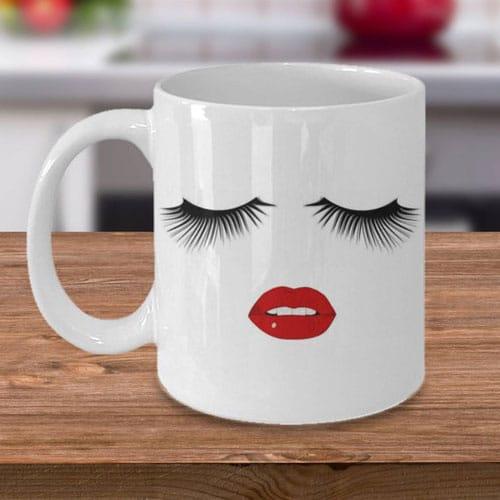 Pretty Face Coffee Mug