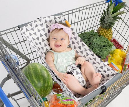 Shopping Cart Baby Hammock