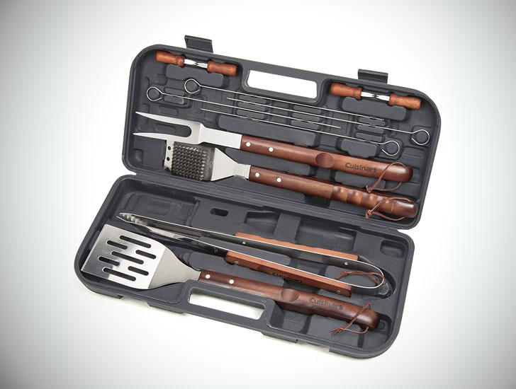 The 13-Piece Grilling Tool Set